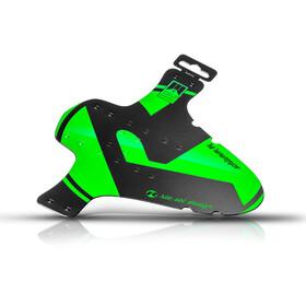 rie:sel design schlamm:PE - Guardabarros - verde/negro